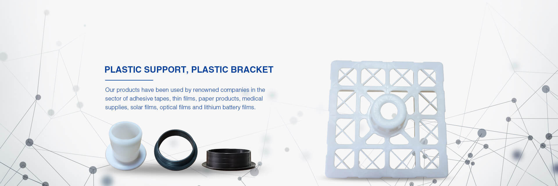 Plastic Support, Holder, Plug