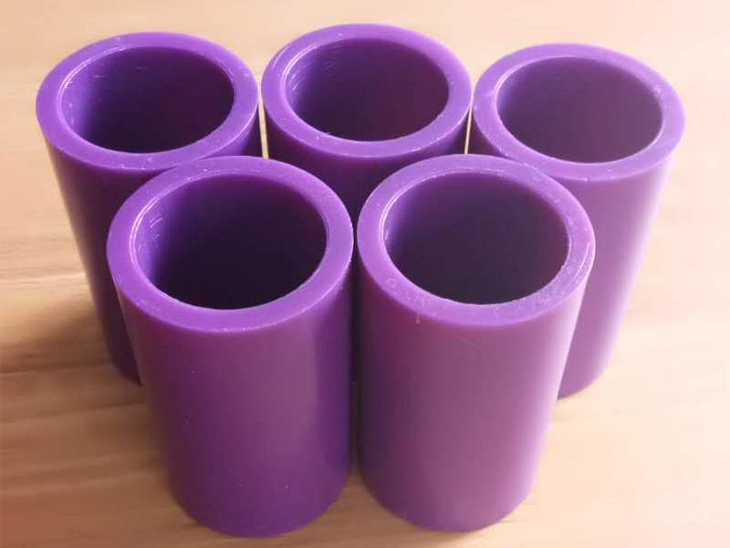 33mm 35mm 40mm 50mm ABS Purple Plastic Core Tube Pipe for Thermal Transfer Ribbon Roll Winding Shrinking