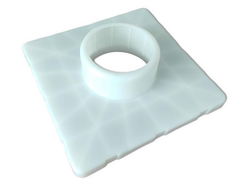 3 Inch 6 Inch Plastic Bracket